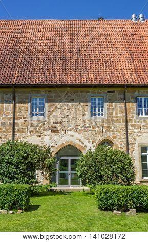 Entrance Of The Bentlage Monastery Near Rheine