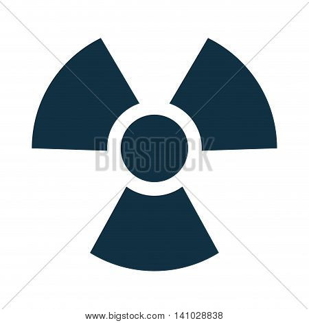nuclear symbol isolated icon vector illustration design