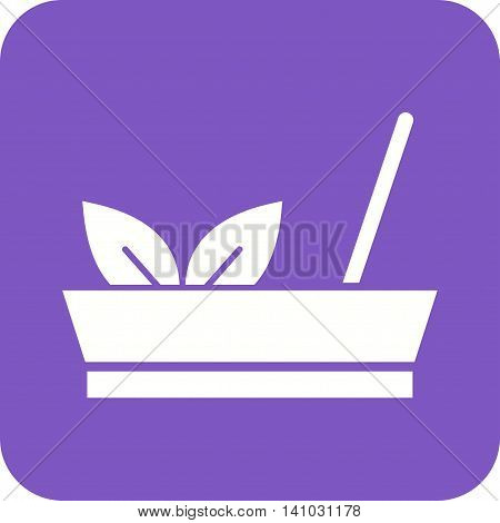 Stick, incense, joss icon vector image. Can also be used for spa. Suitable for use on web apps, mobile apps and print media.