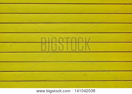 Monochrome Yellow Wood Planking Texture Horizontal Background