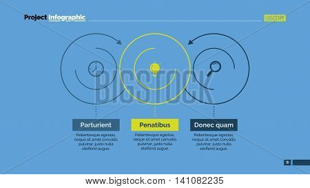 Business infographic. Element of presentation, graph, circle diagram, chart. Concept for templates, infographics, reports. Can be used for topics like business strategy, marketing, analysis, planning