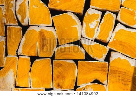 Close up wooden surface texture for background.