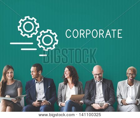 Corporate Corporation Company Business Enterprise Concept