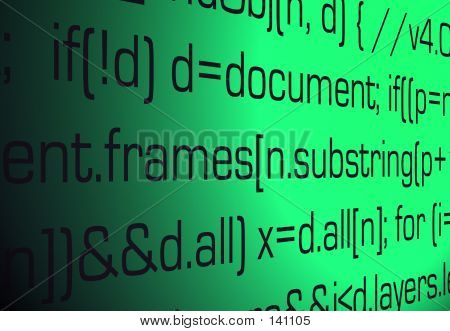 Sourcecode Background