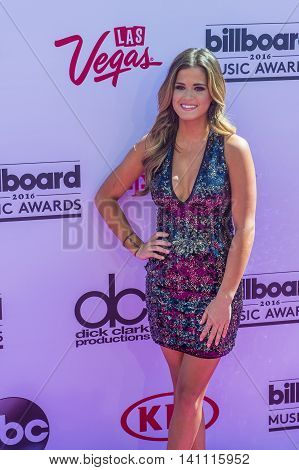 LAS VEGAS - MAY 22 : The Bachelorette's JoJo Fletcher attends the 2016 Billboard Music Awards at T-Mobile Arena on May 22 2016 in Las Vegas Nevada.