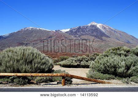 Teide Volcano (pico De Teide). Tenerife