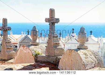 Bonifacio - Marine Cemetery  located in the Bosco quarter