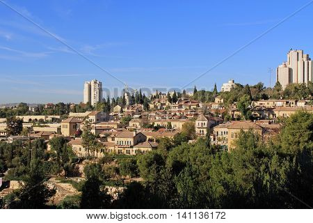 The Yemin Moshe neighborhood is the first neighborhood that was constructed outside the Old City walls of Jerusalem. Includes the famous Montefiore windmill which is a well-known landmark,