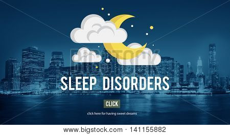 Sleep Disorder Disturbed Insomnia Depression Concept