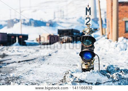 Railway Traffic Semaphore.