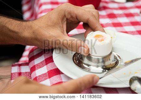 Cooked Breakfast Egg