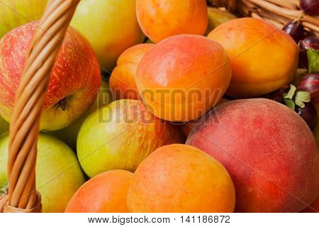 Fresh ripe fruit contain plenty of vitamins and low in calories, for digestive tract, hormonal balance, male strength , from wrinkles, prevent development of cancer and heart disease.