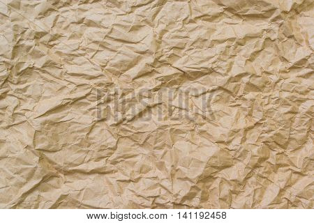 brown crumpled paper for backgrounds, brown, empty, paper