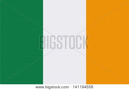 Irish Flag Republic of Ireland Symbol National Image