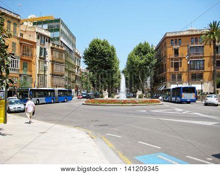 Placa De La Reina, Palma De Majorca