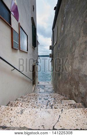Cloudy Rovinj, Istra, Croatia