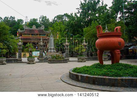 Pagoda Belek.nha Trang.vietnam.
