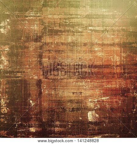 Grunge vintage template or antique background with different color patterns: yellow (beige); brown; gray; green; red (orange)