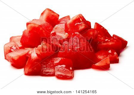 Chopped Peeled Tomatoes, Clipping Paths