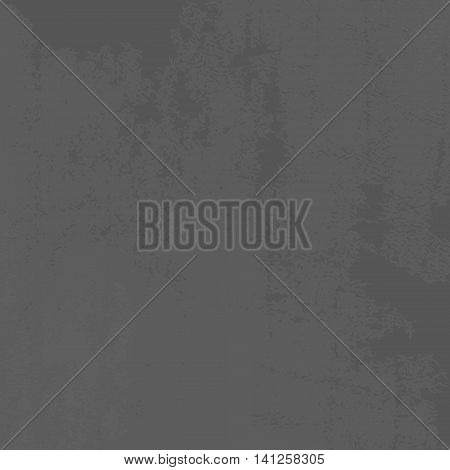 Vector Grunge Retro Vintage Dark Old Grey Texture. Abstract Leather Background Template. Vector Illustration