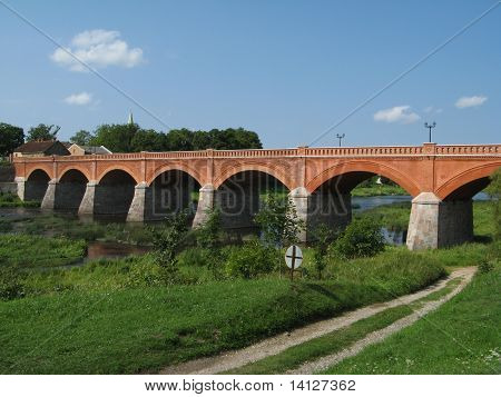 Brigde In Latvia, Kuldiga
