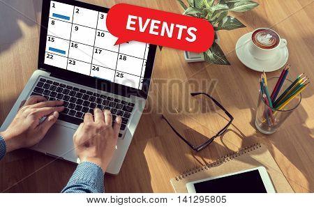 Events (business Office Announcement Communication)