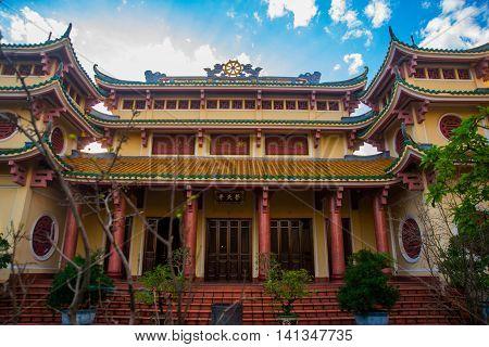 Buddhist Temple .vietnam.da Nang