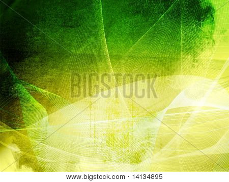 Streams of light abstract Cool waves background poster