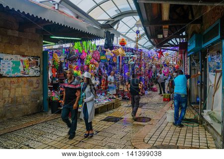 The Old City Market,  Acre