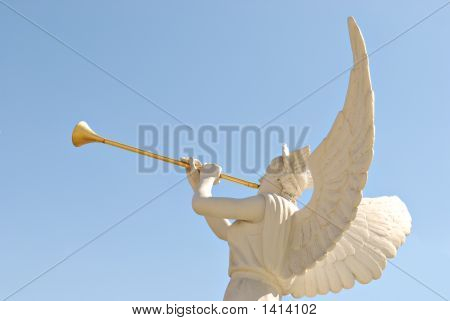 Angel With Golden Trumpet
