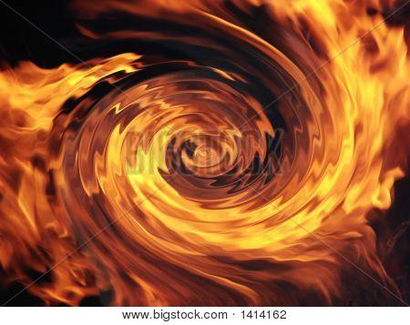 Fiery Spiral