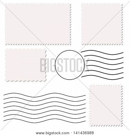 Stamps And Post Marks