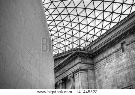 The British Museum In London, England..