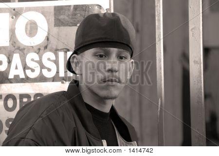 Latino Boy - A Portrait