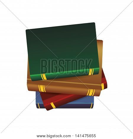 book traditional reading lerning icon. Isolated and flat illustration. Vector graphic