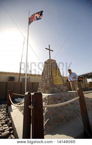 Soldiers Afghanistan memorial