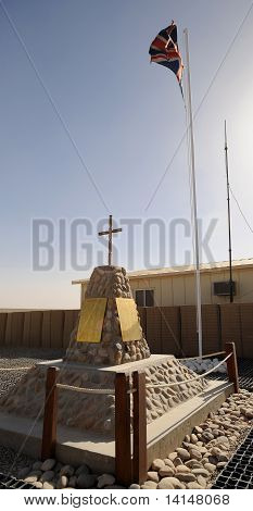 Afghanistan camp bastion memorial