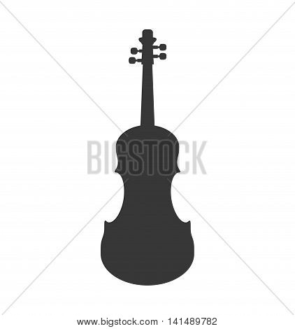 cello instrument music sound icon. Isolated and flat illustration. Vector graphic