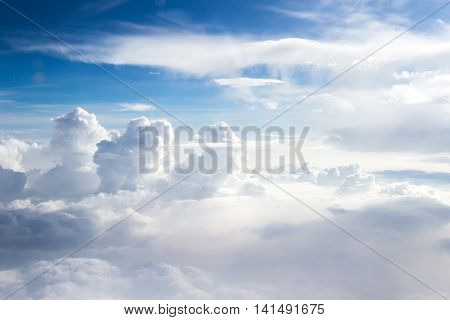Cloud Formations From A Different Perspective