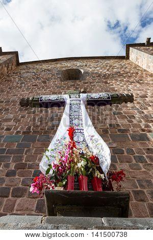 Christian Cross In Peru