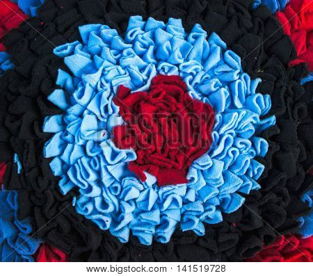 colorful doormat for background and texture .