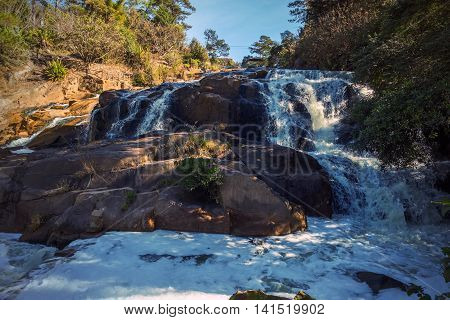 Cam Ly Waterfall In Dalat Vietnam