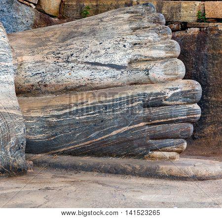 Statue Buddha Attained Nirvana