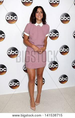 LOS ANGELES - AUG 4:  Chloe Bennet at the ABC TCA Summer 2016 Party at the Beverly Hilton Hotel on August 4, 2016 in Beverly Hills, CA