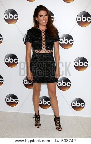 LOS ANGELES - AUG 4:  Karla Souza at the ABC TCA Summer 2016 Party at the Beverly Hilton Hotel on August 4, 2016 in Beverly Hills, CA
