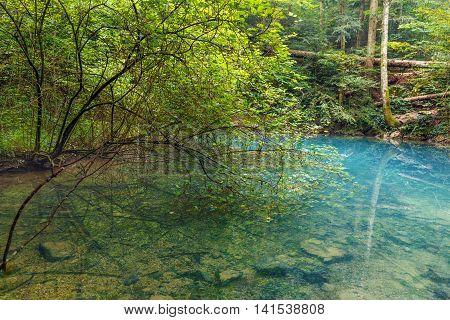 Ochiul Beiului Lake In Romania