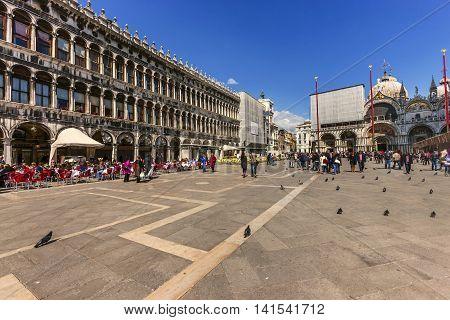 Famous Piazza San Marco, Venice