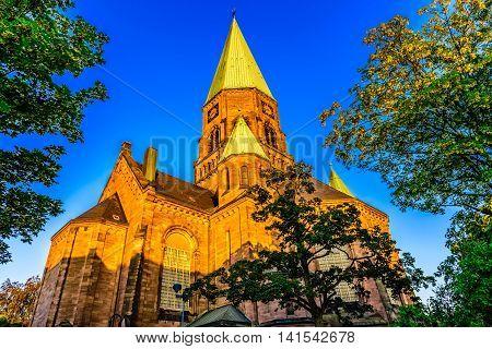 Church in Kaiserslautern, Bundesland, Rhineland-Palatinate southwest Germany