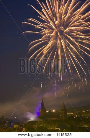 Fireworks In France