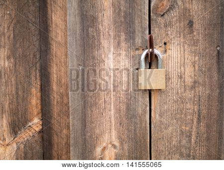 wooden wall texture background with master key vintage style